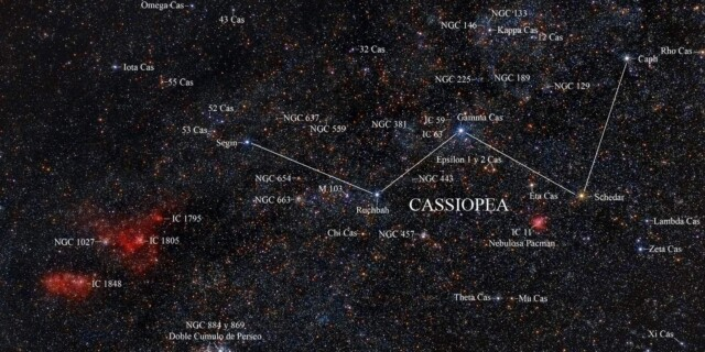 Constellation of the Month October : CASSIOPEIA