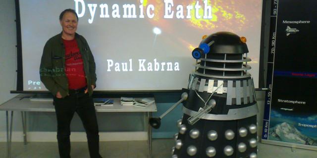 April society meeting with Mr Paul Kabrna