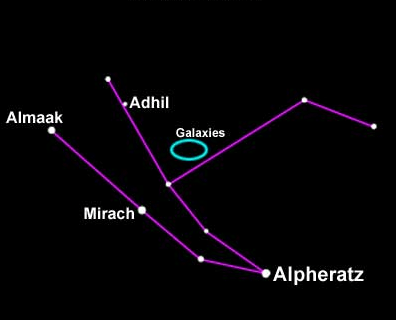 Constellation of the Month November : Andromeda