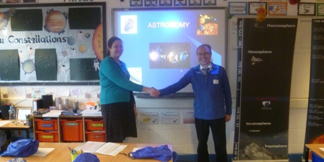 Astronomy, with Victoria Primary School, Keighley