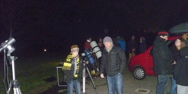 Stargazing Live 2015 at East Riddlesden Hall