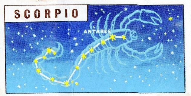 Constellation of the Month June : Scorpius